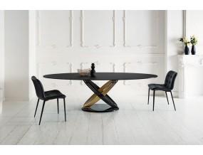 Ovalus valgomojo stalas Fusion