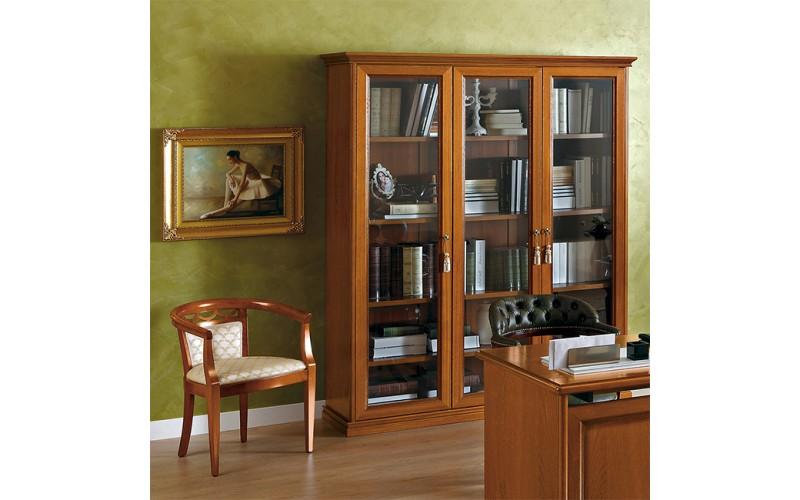 Vitrininė knygų spinta Nostalgia (3 durų)