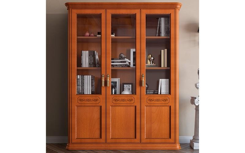 Knygų spinta Torriani ufficio (3 medinių durų)