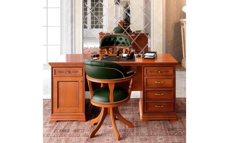 Rašomasis stalas  Torriani ufficio 180 cm (su stalčiais ir spintele)