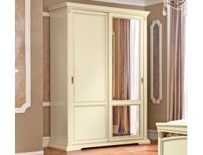 Treviso spinta 2 stumdomų durų su veidrodžiu