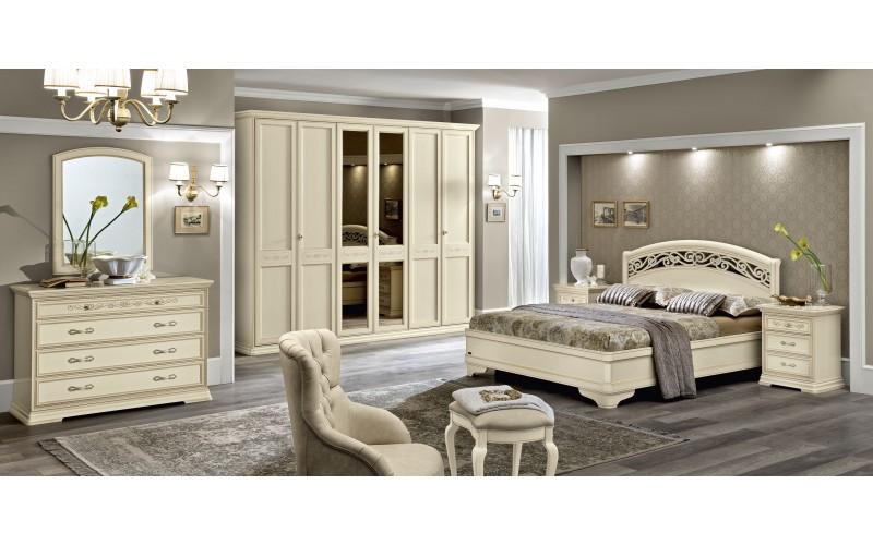 Spinta Torriani 6 durų avorio su veidrodžiais