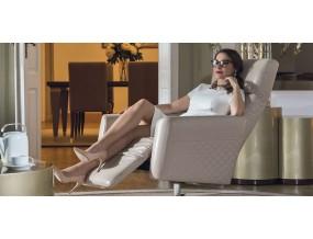 Fotelis Tenore su žvaigždės formos koja
