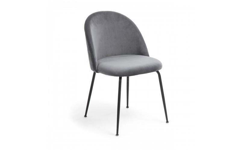 4 pilkų kėdžių komplektas