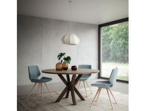 Apvalus valgomojo stalas Ray