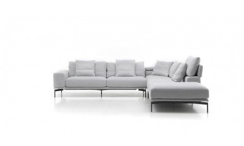 Kampinė sofa Topaz pilka