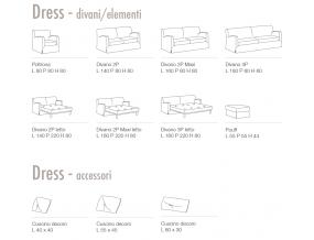 Dress fotelis