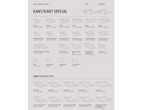 Kant Special kampinė sofa