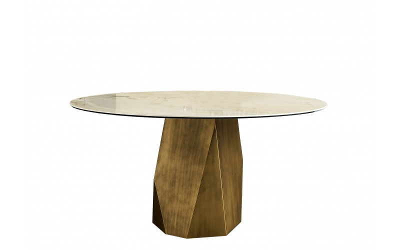 Apvalus valgomojo stalas Deod